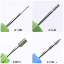 1pcs 14 Type Diamond Head Nail Files Cuticle Cutter for Manicure Electric Drill 3/32″Nail Art Mills Bit Nail Art Accessory CH056