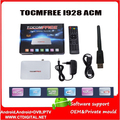 Receptor satelital Tocomfree i928 acm with one antena dish de tv satelite for chile brazil iks free for Latin America