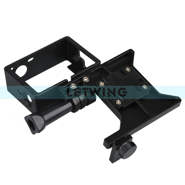 Lanparte GOC-01 GoPro Clamp for 3-Axis Hand Held Gimbal GoPro Camera Cage for Use with Lanparte HHG-01 Gimbal Stabiliser