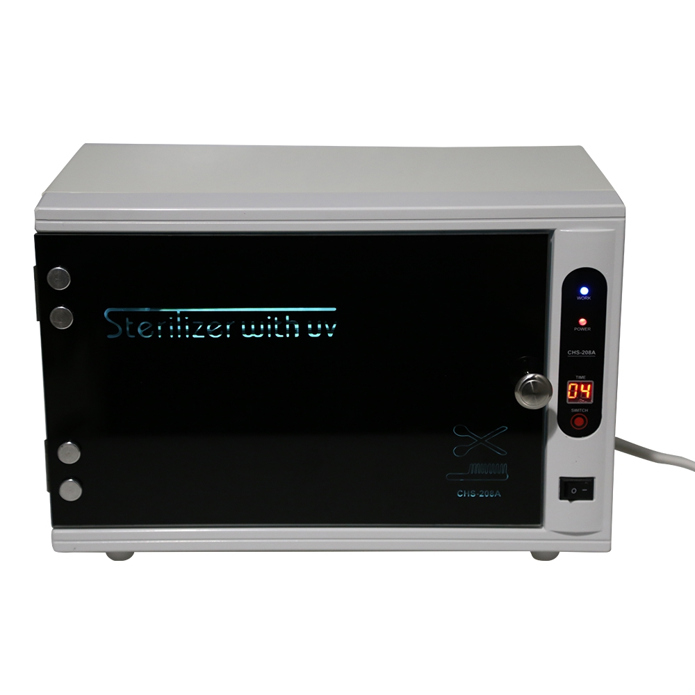 UV Nail Disinfection Cabinet Manicure Tools Sterilizer цена