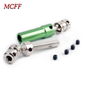 Image 4 - Metal Rear Drive Shaft CVD Spare Parts for 1/12 RC Car Crawler Short Course Truck WLtoys 12428 12423 Upgrade Parts
