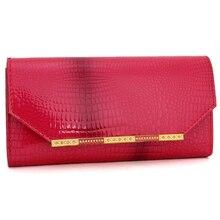 2016 echtem Leder Brieftasche Frauen Brieftaschen und Frau Geldbörsen Designer Marke berühmte lange Münze Handtasche Geldbörse Kartenhalter