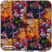 ITAATOP Hydro קריקטורה TSCW1602 0.5M * 2/10/20M צבע טבילה מים הדפסת העברת סרט