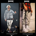 Justin Bieber 1:1 Design Purpose Tour Pants Men Women Off White Pant 100%Cotton Harem Jogger Hip Hop Casual Compression Trousers