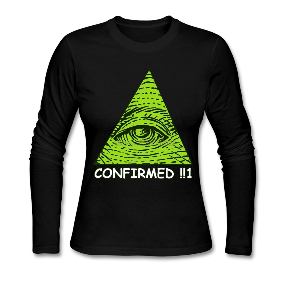 Design t shirts and sell online - Exercise O Neck Shirt Teenage Illuminati Confirmed Funny T Shirt Designs Hot Sale Teenage Long