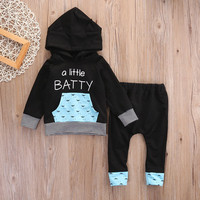 2PCS Newborn Cute Cartoon Floral Printed Baby Boy Girl Clothing Set Infant Soft Cotton Tops Pants