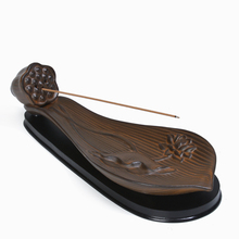 Fragrant lotus incense appliance ceramic burner creative incense incense incense ornaments incense sandalwood incense burner lotus upscale boutique red sandalwood ebony sandalwood incense burner hob buddhism adder