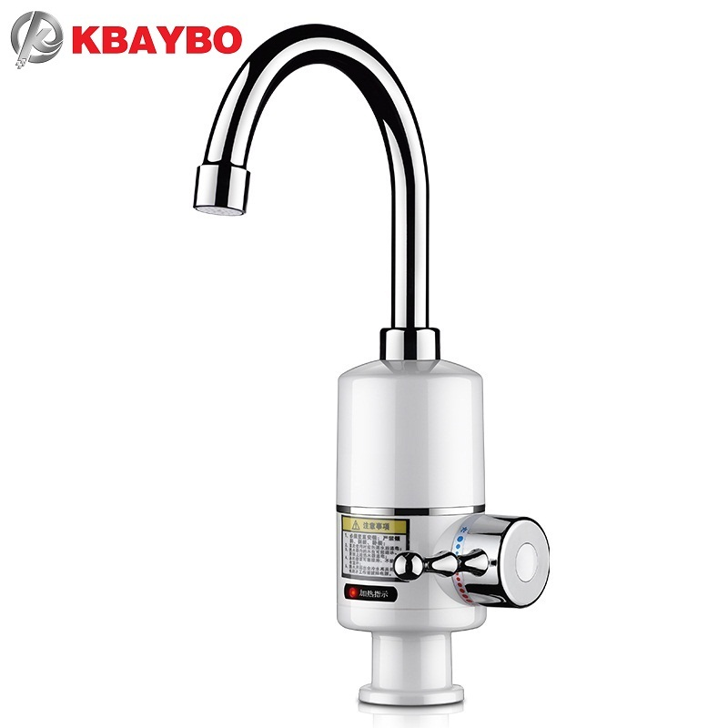 3000W Tankless Faucet Water Heater Instant Electric Water