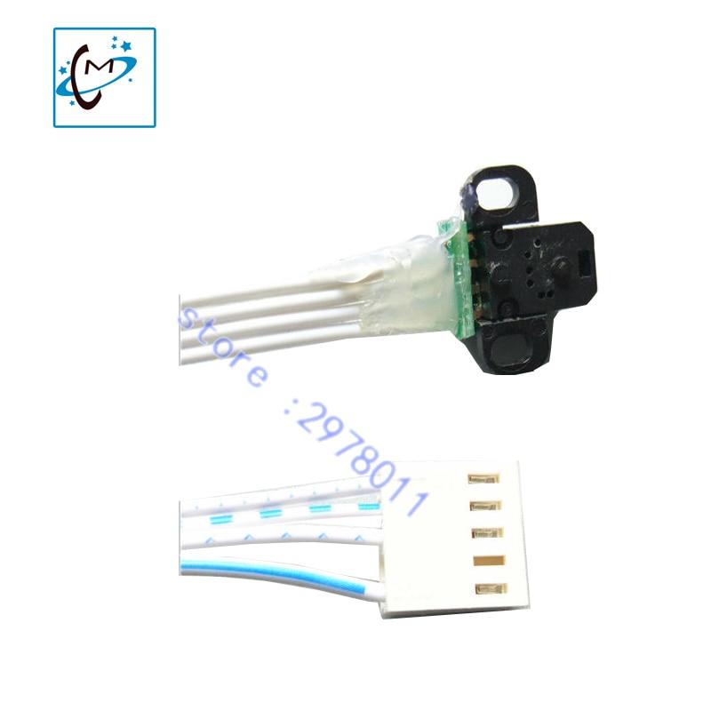 Lowest price DX5  head encoder sensor with H9730 reader for Wit color Smart Ultra 9000 9100 piezo photo printer raster sensor недорго, оригинальная цена
