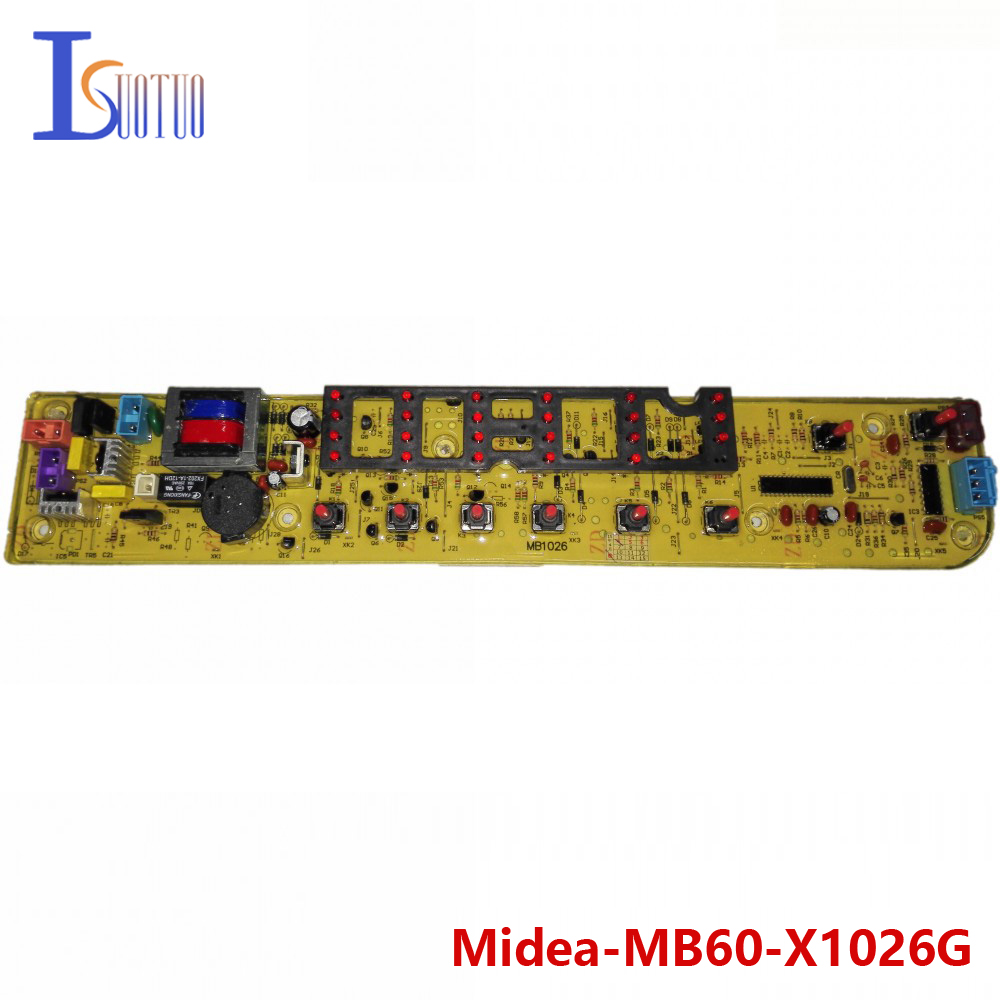 Midea washing machine brand new computer board MB60-X1026G MB70-X1026G 65-Q1026G MB70-1026G  brand new washing machine timer dxt 15f g 3 5a 250v 180 degree