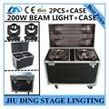 2 шт./5R 200 Вт луч света + Кейс RGBW 4in1 moving головной свет этап discolights профессиональный ДИ-ДЖЕЙ оборудование