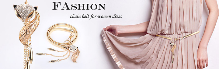 chain belt for women