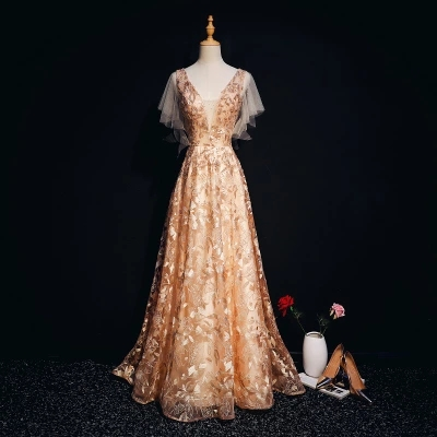 Kadın Giyim'ten Elbiseler'de Kelebek kol şarap kırmızı/altın/donanma nakış uzun elbise vintage ortaçağ elbise Rönesans prenses Victoria elbise'da  Grup 1