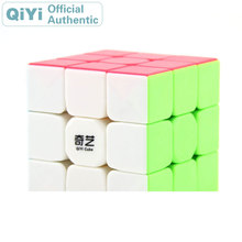 QiYi Warrior W 3x3x3 Magic Cube MoFangGe 3x3 Cubo Magico Professional Neo Speed Puzzle Antistress Fidget Toys For Children