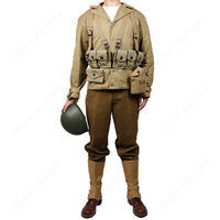WW2 Cotton Reproduction Of The Original Lining U.S. ARMY M41 Field F/W Thickening Version D DAY uniform Garland equipment group