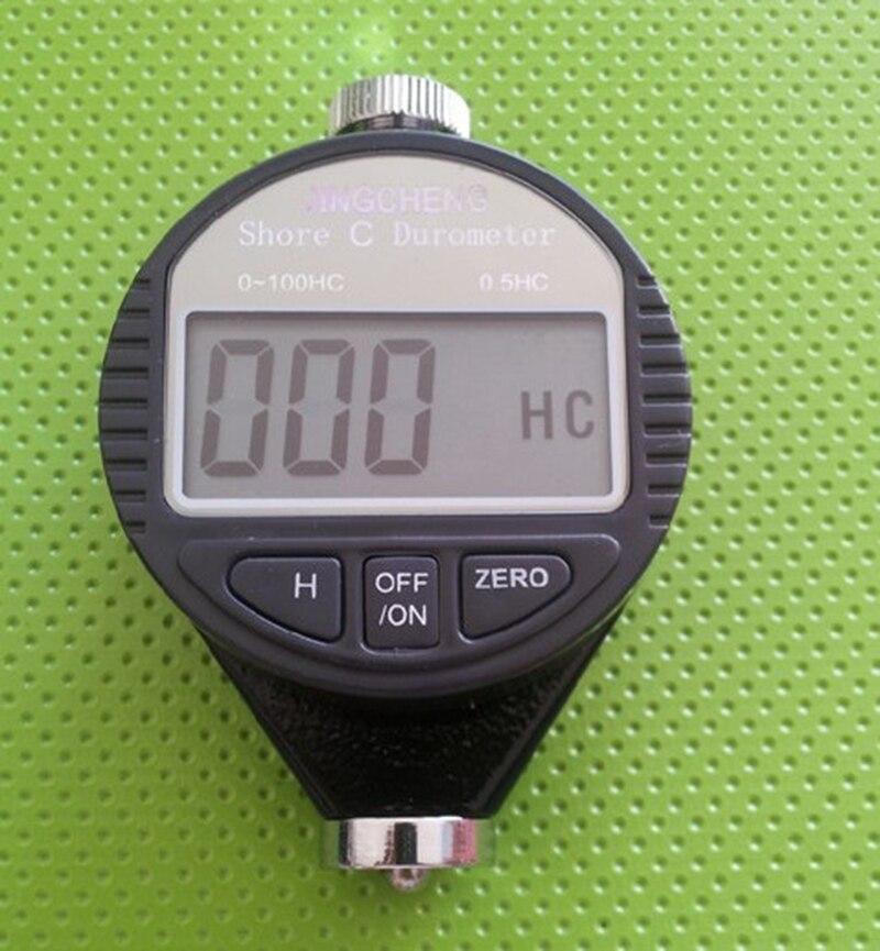 Hot Digital 0~100HD Shore Tire Durometer C Hardness Tester Rubber new Meter  цены