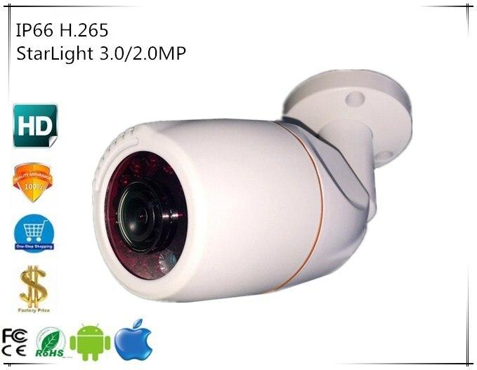Panorama FishEye 3516E C Sony IMX291 IP Bullet Camera StarLight 3 0 2 0MP 1080P H
