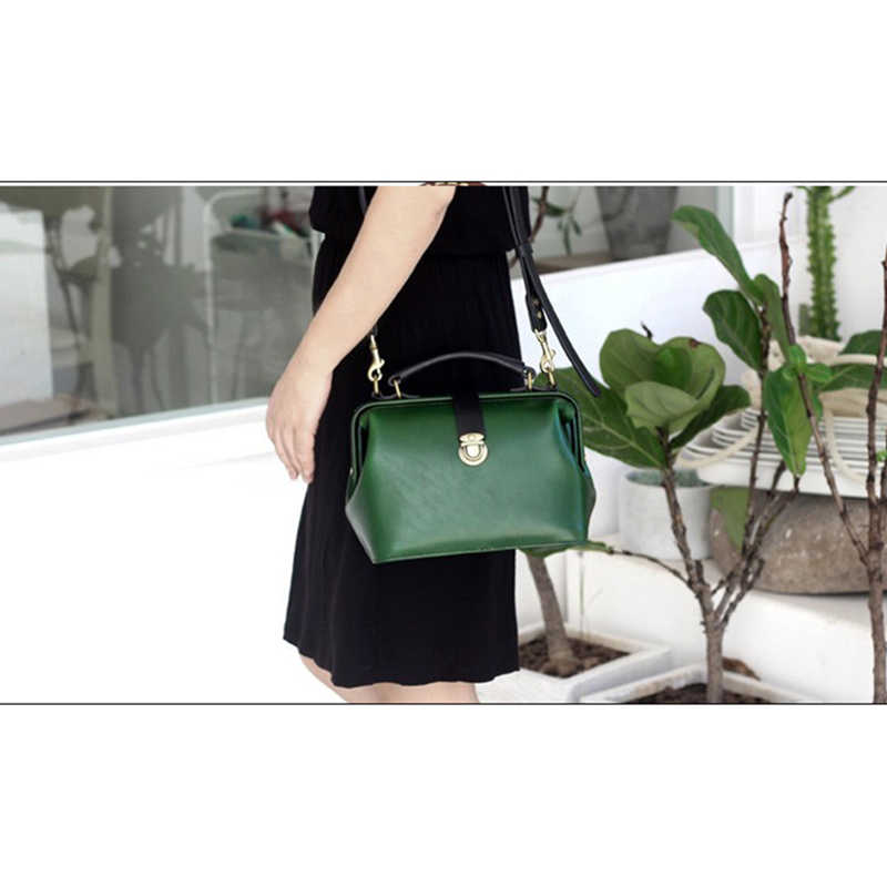1 Set Shoulder Satchel Bag Handbag Sewing Pattern Diy Handmade Leather Template Durable Acrylic Stencil 30 28 14cm