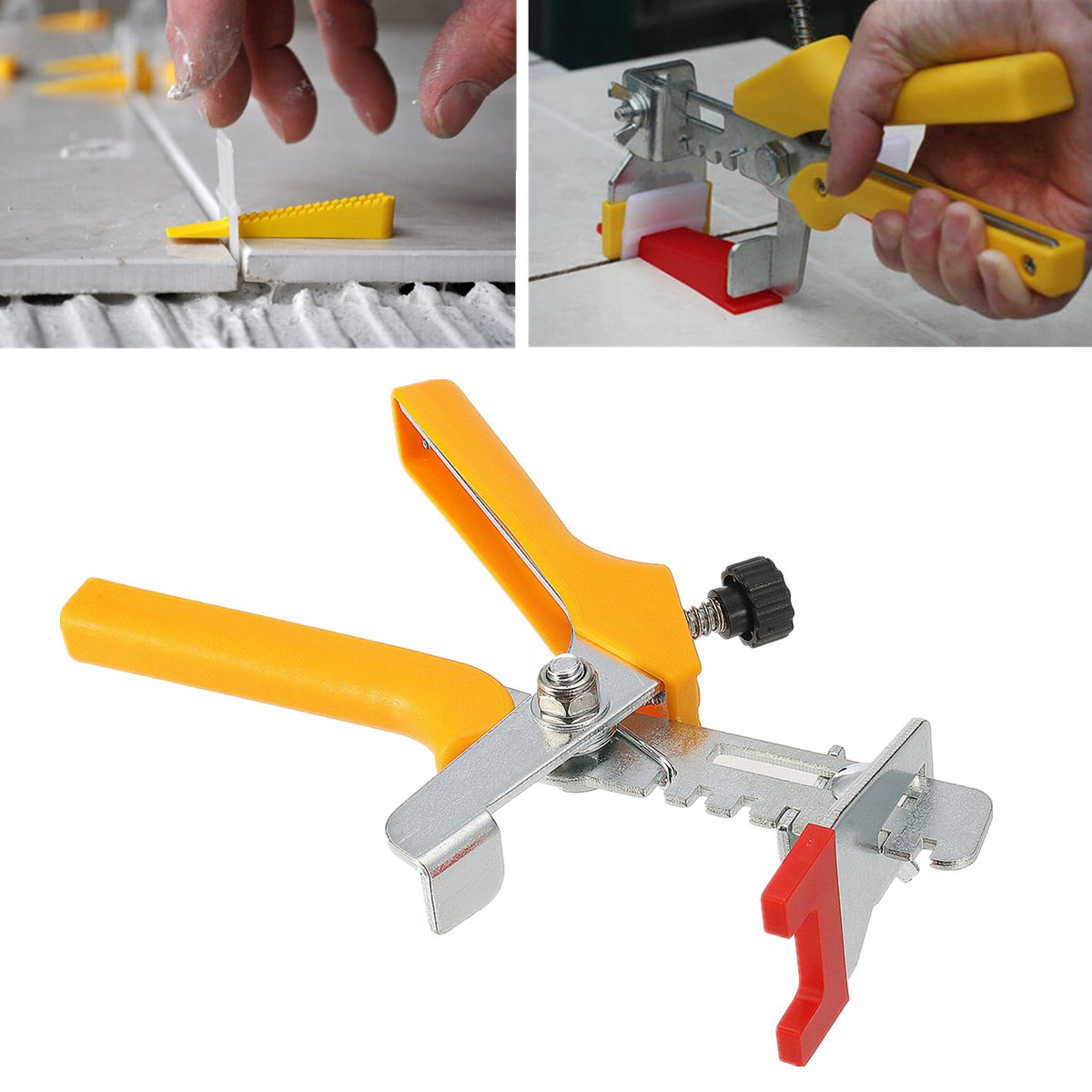 Accurate Tile Leveling Pliers Tiling Locator Tile Leveling System Ceramic Tiles Installation measurement Tool|Construction Tool Parts| |  - title=