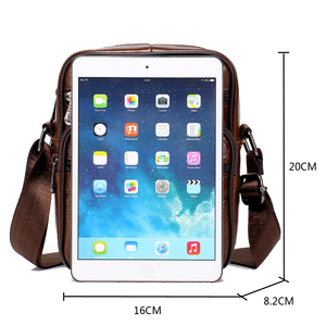Image 5 - Genuine Leather Crossbody Men Messenger Bag Hot Sale Male Small Man Flap Fashion Shoulder Bags Mens Travel New Handbags ZZICK