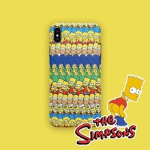 Simpson phone Case cover For iPhone 7 6 6s 7 8 Plus X 10 XR XS