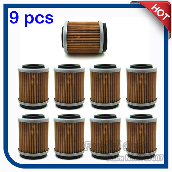 Yz426f Big Bore Kit Yz426f Yz426: 9pcs/pack Oil Filter For YZ426F YZ250F YZ400F TTR250