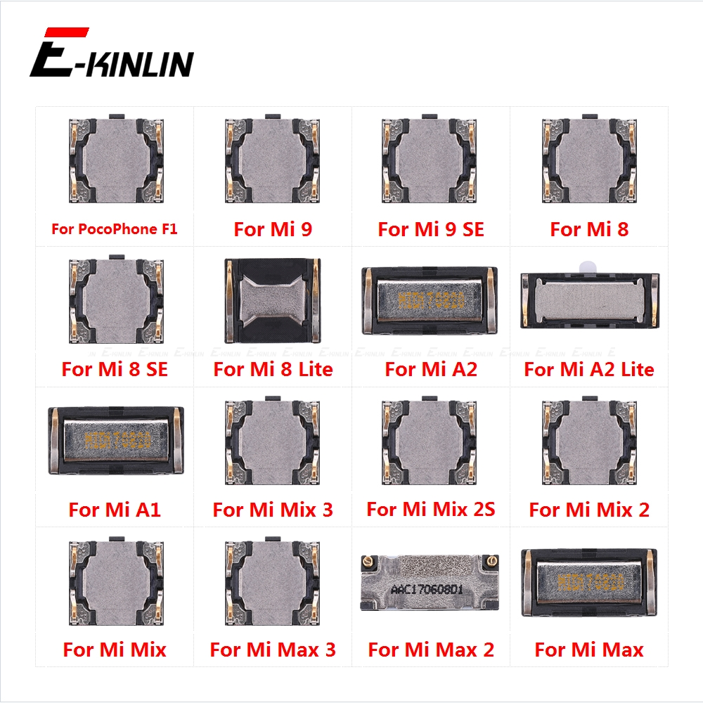 Earpiece Receiver Front Top Ear Speaker Repair Parts For XiaoMi Mi PocoPhone Poco F1 Mi 9 8 SE Max 2 3 Mix 2S A1 A2 Lite