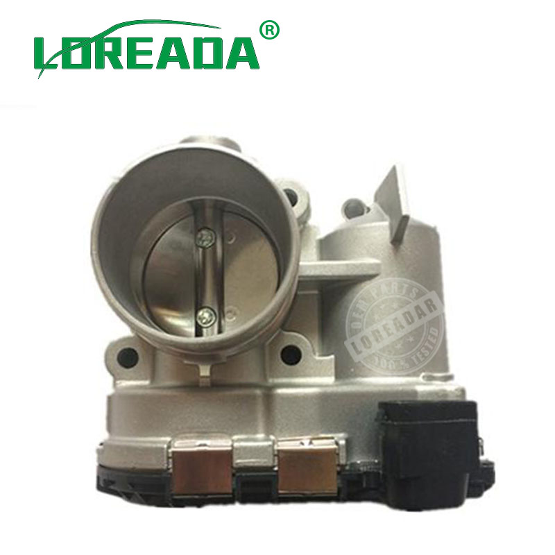 Throttle Body Assembly for FIAT PUNTO 500L LINEA NUOVA BRAVO EVO ALFA ROMEO GIULIETTA LANCIA DELTA ABARTH 0280750137 55187316 катушка зажигания для alfa romeo fiat 500 bravo doblo idea panda lancia 46777288