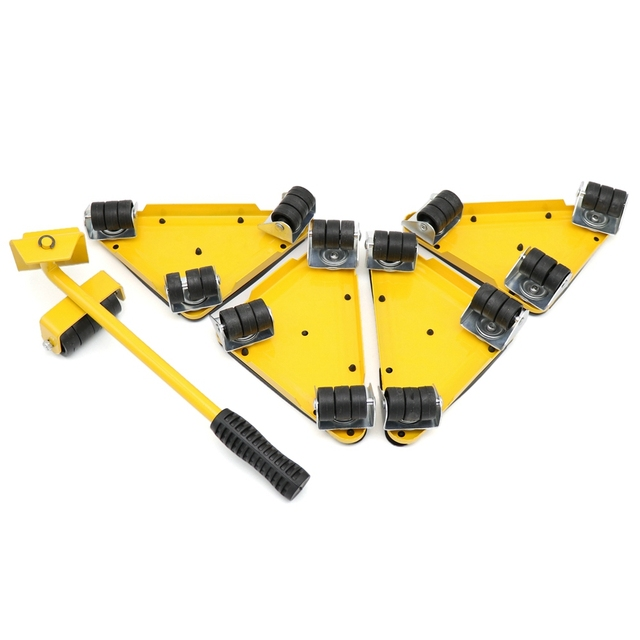 Furniture lifter moving sliders 1