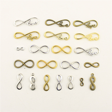Jewelry Female Infinity Symbol Love Hope Connect The Character Diy Accessories
