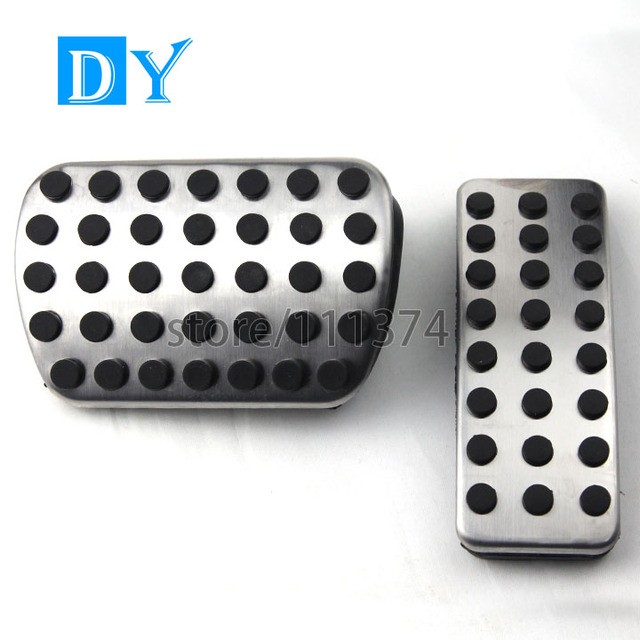 No Drill Gas Brake Pedal Fuel Pedals Automatic For Benz CLA GLA ML GL R W164 W166 X164 X166 W251 W168 W169 W176 W245 W246