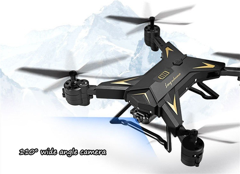 RC Helicopter Drone with Camera HD 1080P WIFI FPV Selfie Drone Professional Foldable Quadcopter  Minutes Battery Life 9