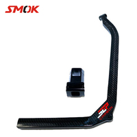 SMOK For Yamaha CYGNUS 125 2012 2015 Motorcycle Accessories Carbon Fiber Strengthening The Keel Rod Fixed Beam Adapted
