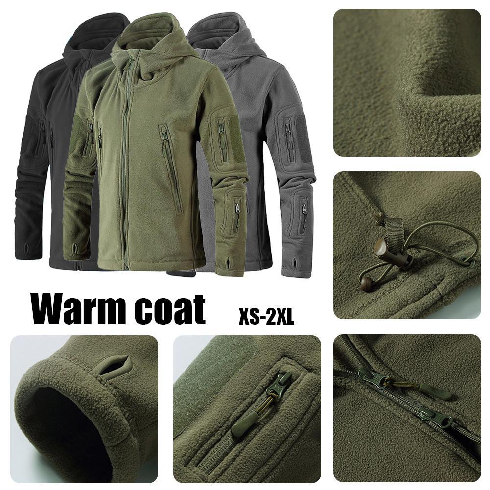 € 21.03 25% de réduction|Extérieur neutre épaissir manteau chaud veste polaire randonnée alpinisme veste 3 couleurs in Randonnée Vestes from Sports et