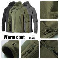 Neutral Outdoor Thicken Warm Coat Fleece Jacket Hiking Mountaineering Jacket 3 Color