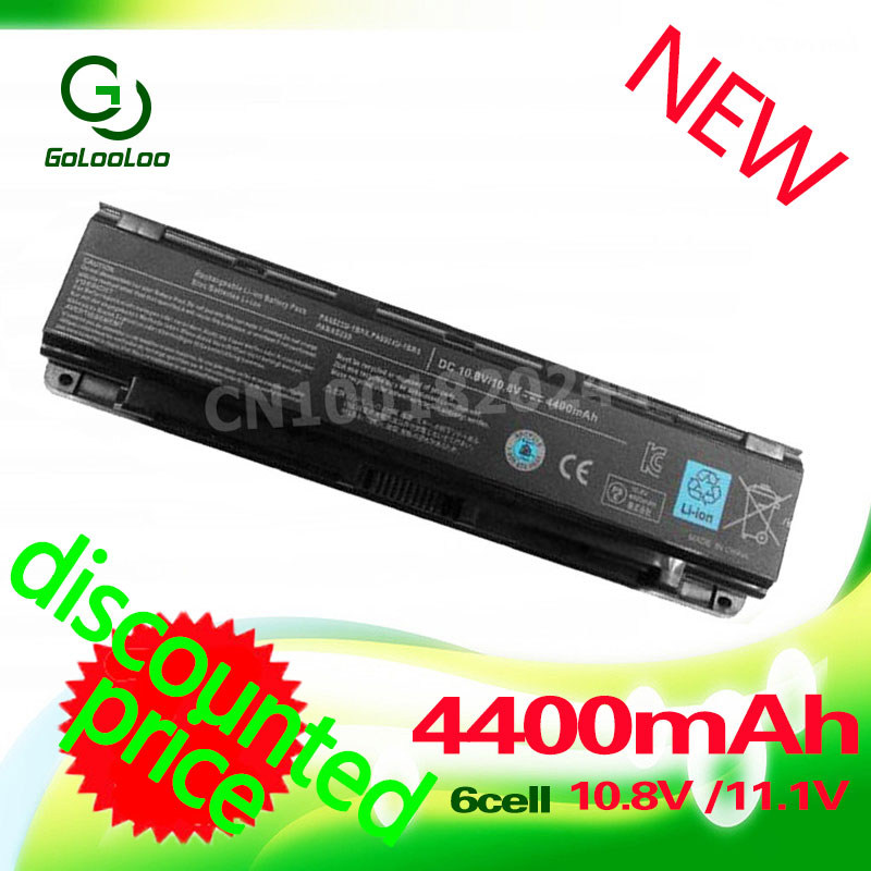 Golooloo 4400mAh Laptop Battery for Toshiba PA5109U-1BRS C40