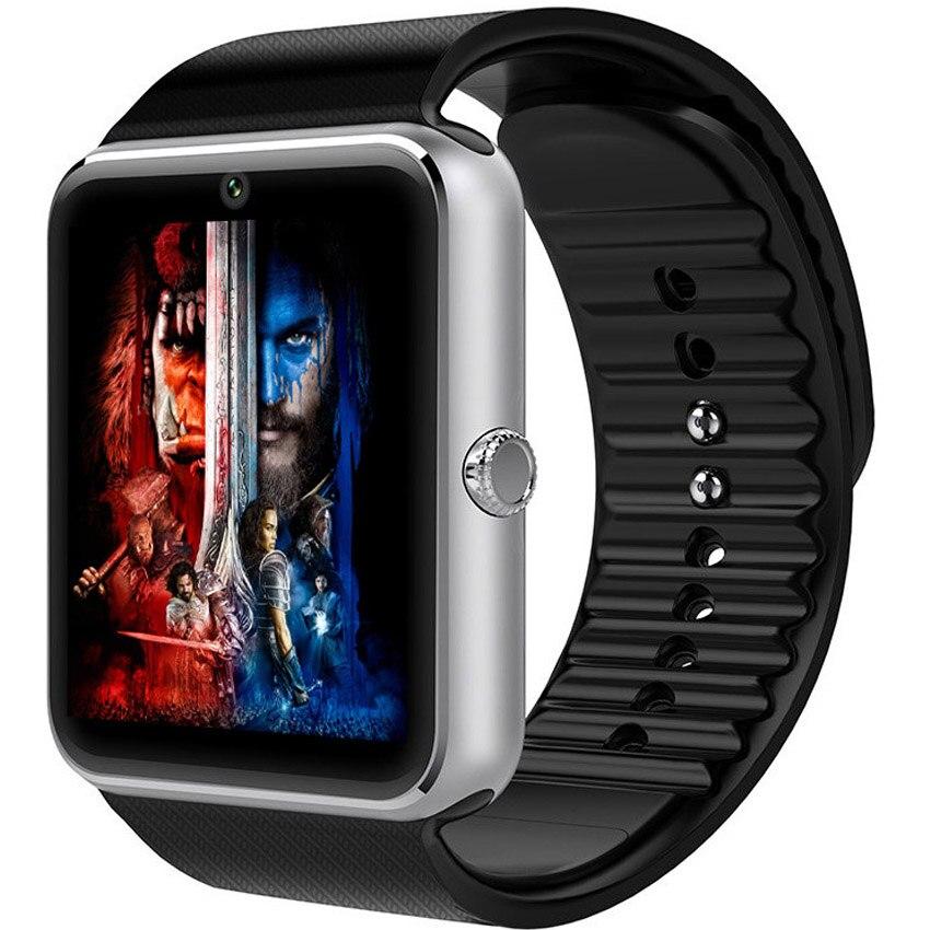 imágenes para Hiway bluetooth smart watch gt08 para apple iphone ios android teléfono Desgaste de la muñeca Soporte de Sincronización de reloj inteligente Tarjeta Sim PK DZ09 GV18