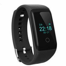 Умный часы Bluetooth Смарт Браслет Сердечного ритма мониторинга Сна Фитнес-Трекер SmartBand Спорт Браслет Шагомер