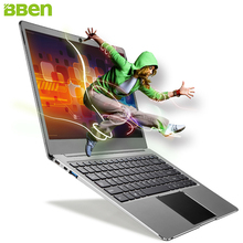 BBEN Laptop Windows 10 Intel N3450 Quad Core HD GPU 4GB RAM 64GB eMMC 128G SSD WiFi BT4.0 USB3.0 HDMI Type C Ultrabook Netbook