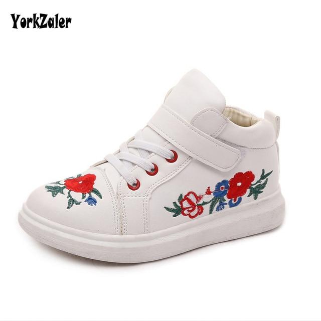 Yorkzaler Anak Bordir Bunga Sepatu 2018 New Fashion Sepatu Bayi