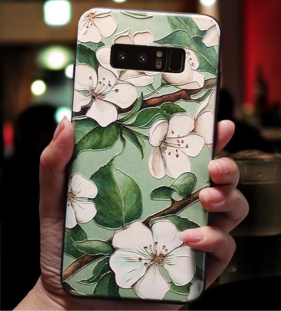 3D Relief Case For Samsung Galaxy S10 Lite J4 J6 Plus A9 2018 A30 2016 A5 2017 J3 J7 Note 8 9 S6 S7 Edge S8 S9 Plus A40 A70 Case