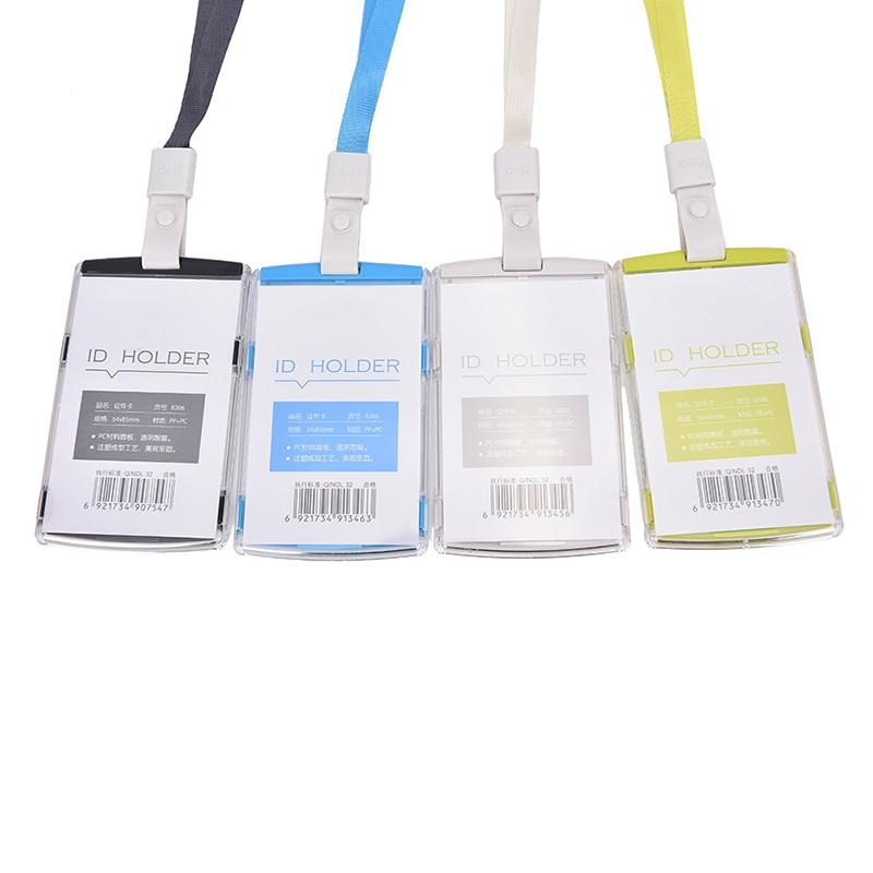 Card Bag name badge cards case Business Card Holder storage ...
