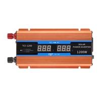 LCD Display 700W Car Power Inverter 1200W Peak Power DC 12V to AC220V for Car Boat Truck