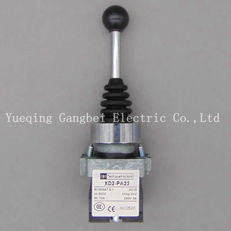 joystick controller spring return joystick switch XD2-PA22CR Rotary Switches Auto reset(China)