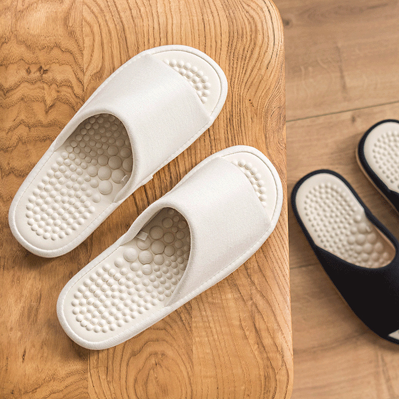 2020 Summer Flat Shoes Woman Home Massager Slippers Unisex Indoor Healthy Slipper Breathable EVA Sole Female Slides SH022011W