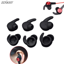 12 Pairs Silicone Earbuds Hook Eartips Anti-slip Ear tips for Huawei Honor xSport AM61 Bluetooth In-Ear Earphones L/M/S цена и фото