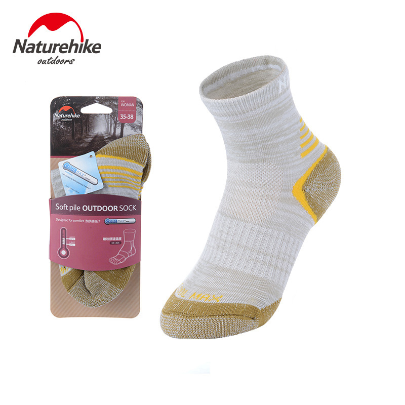 NatureHike 2 pair Outdoor Sports Socks Hiking Climbing Skiing Travel Running Summer Sport Socks Male Women Breathable