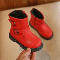 2017 New Winter Children Snow Boots For Girls Fur Boot Fashion Kids Shoes Keep Warm Toddlers