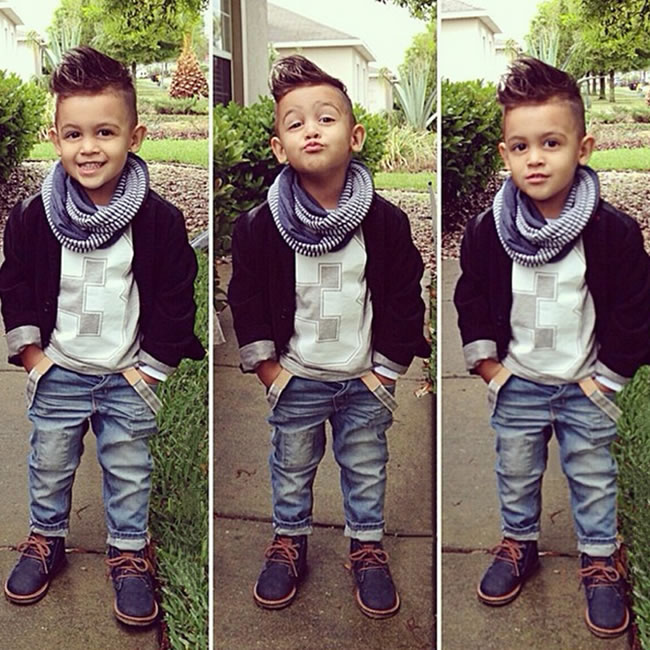 Christmas Birthday Outfit For Boy Denim Set Clothes Kid Black Coat Jacket Top T Shirt Jeans Trouser 3pcs Suit Boutique Kit 3 8T