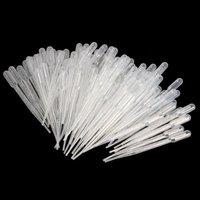 100PCS Graduiert Pipetten Dropper Polyethylen (3 ml)